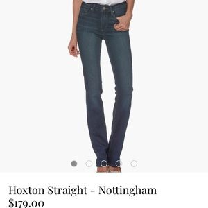 Paige Hoxton Straight Leg Jean